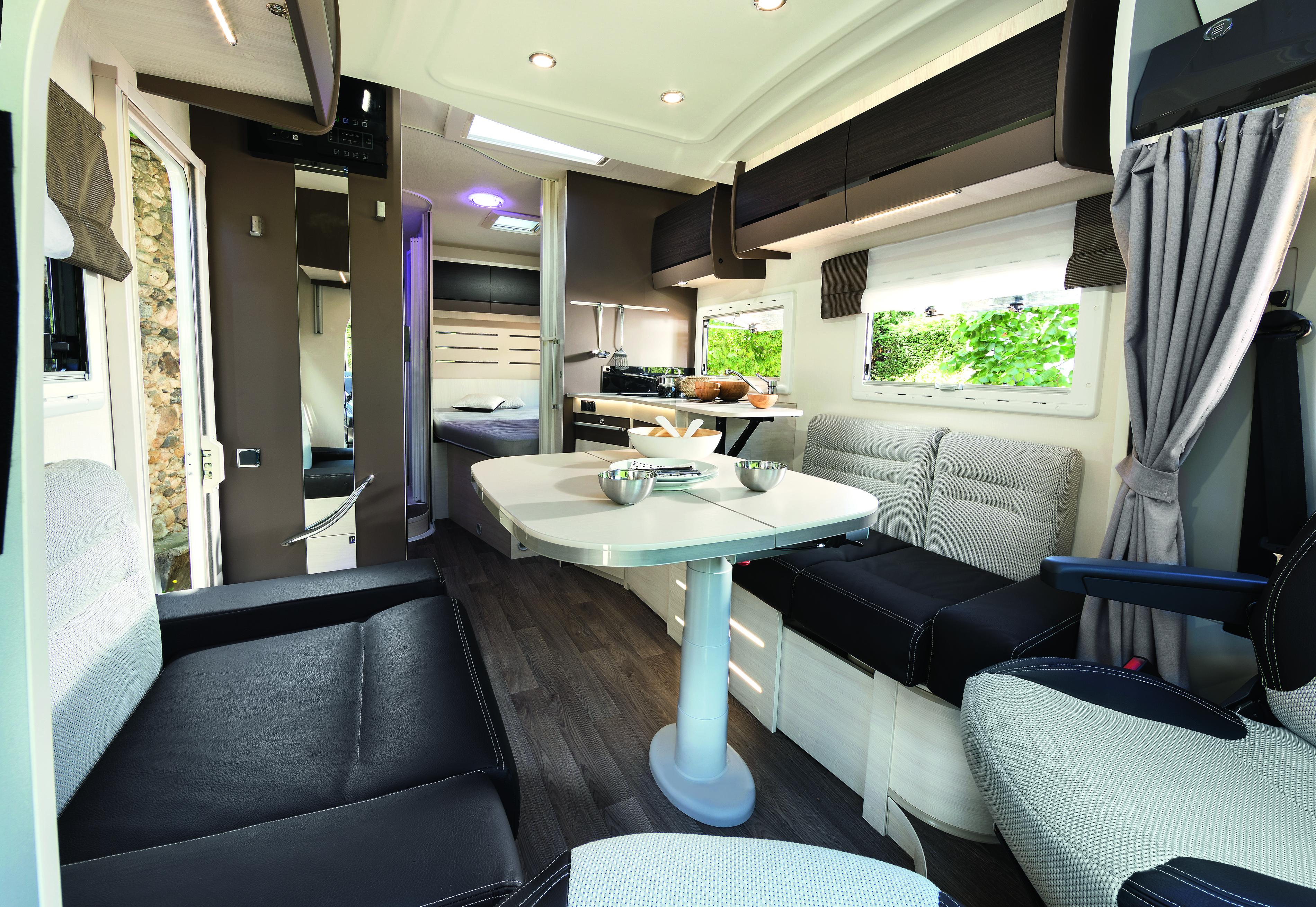 Wohnmobil Innenraum